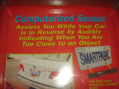 smartpark computerized back up sensor new in box