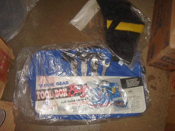 new 22 pocket tool bag and drill holster for sale in Salt Lake City , UT