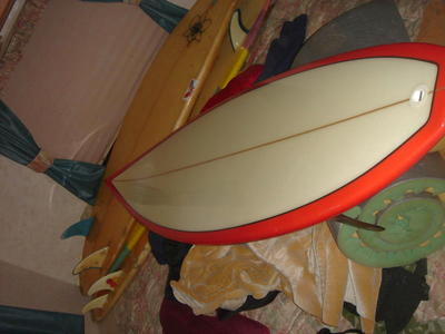 "NEW CUSTOM 6'2"" SURFBOARD NEVER BEEN IN THE WATER!"