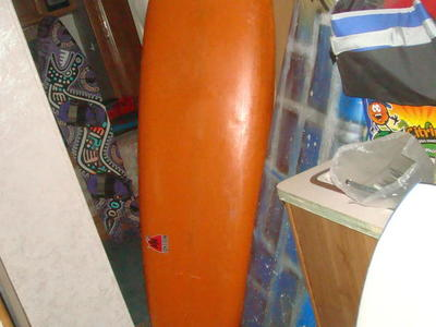 RARE 70'S OR 80'S VINTAGE SINGLE FIN SURFBOARD