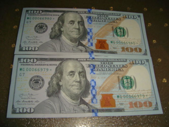 2 STARED FEDERAL RESERVE BILLS 200 FACE FOR 215. for sale in Salt Lake City , UT