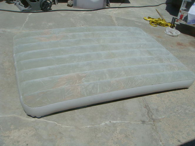 BIG AIR MATTRESS CAN BE FILLED WITH AIR OR WATER for sale in Salt Lake City , UT