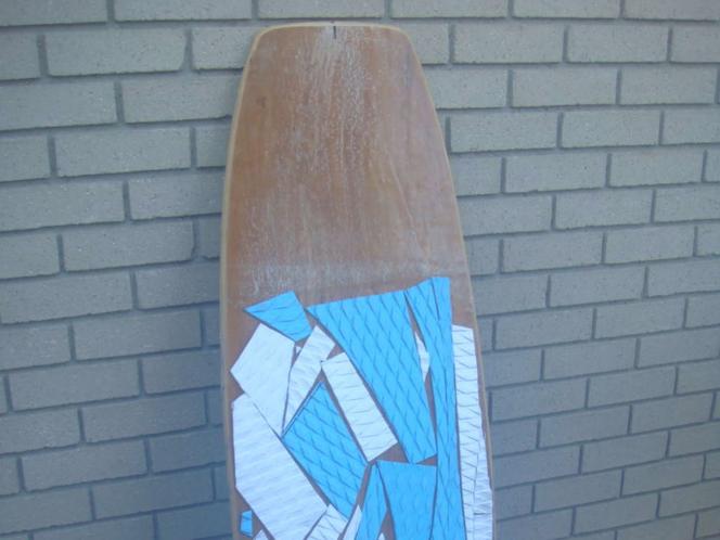 CUSTOM MADE WOOD WAKE SKATE BOARD WITH TWIN SHAPE for sale in Millcreek , UT
