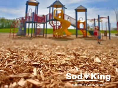 🥇MULCH - Certified Playground Woodchips Delivered
