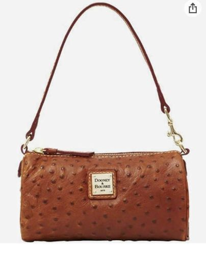 Dooney & Bourke Mini Barrel Ostrich Handbag/Purse for sale in Sandy , UT