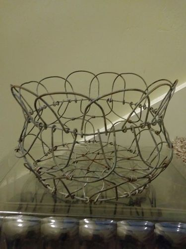 Vintage wire basket for sale in Provo , UT