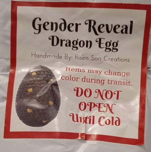 Gender Reveal Dragon Egg for sale in Logan , UT