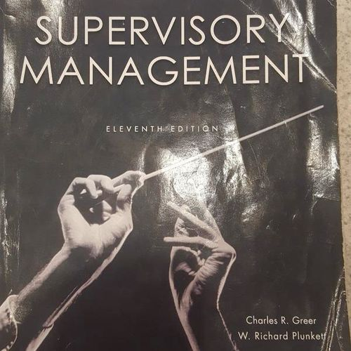 Supervisory Management (11th Edition) for sale in West Haven , UT