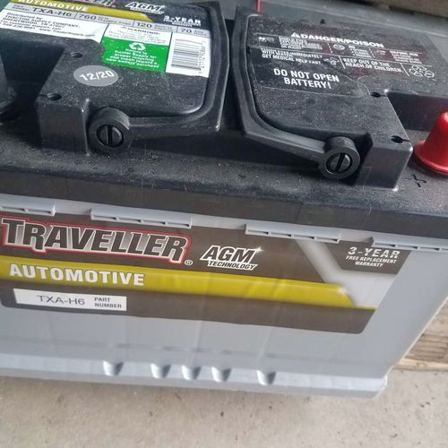 New AGM TXA-H6 12 v battery with 3 year warranty  for sale in Heber , UT