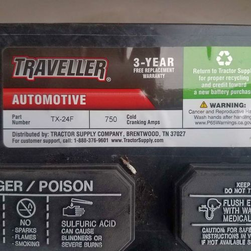 New 24F 12v auto battery with full 3 year warranty for sale in Heber , UT
