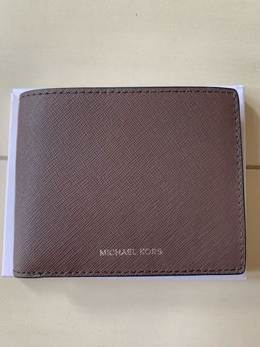 Michael Kors Mens Leather Wallet Brown Brand New! No Box for sale in Kaysville , UT