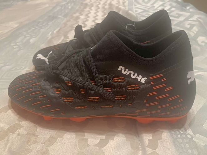 Puma Future 16.1 Netfit Cleats Youth Sz 4.5 for sale in Kaysville , UT