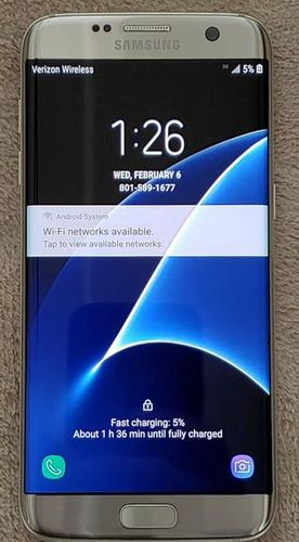 Samsung Galaxy S7 Edge Verizon / unlocked for sale in Layton , UT