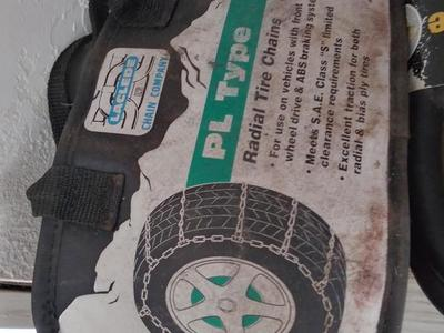 Pl type tire chains