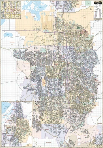 5x7 ft Wall Map Salt Lake City  Salt Lake/Davis County Line; South: All of the City of Bluffdale; for sale in Mountain Green , UT