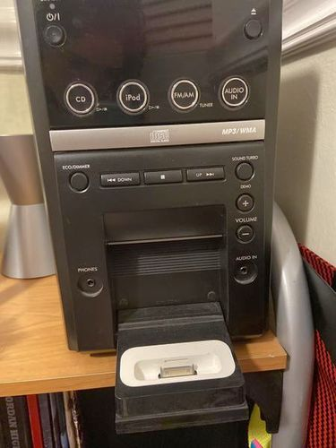 JVC Stereo With Two Speakers And Remote for sale in Sandy , UT