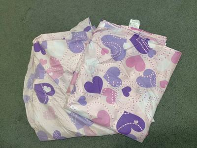 Girls Heart Twin Sheet Set