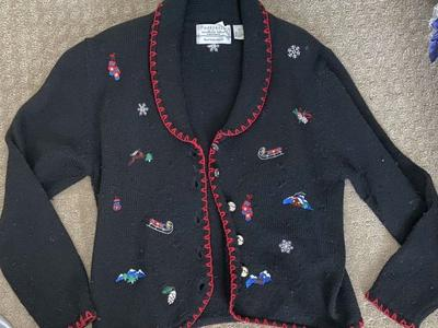 XL Authentic Ugly Christmas Sweater