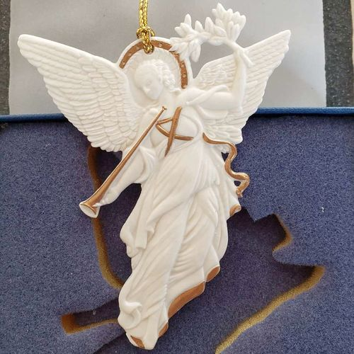 Wedgwood White Jasper Angel Ornament for sale in Sandy , UT