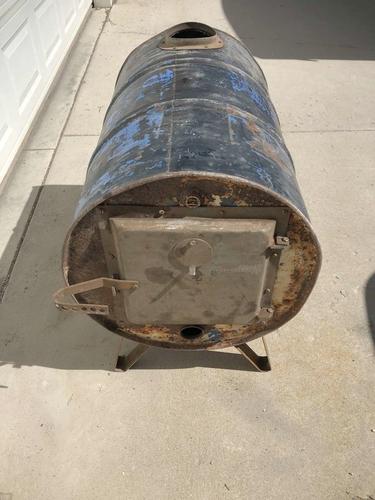 55 gallon fire barrel for sale in Pleasant Grove , UT
