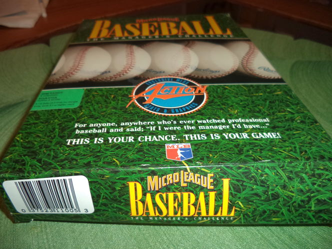 Micore League Baseball The Manager's challenge New in box for sale in Murray , UT