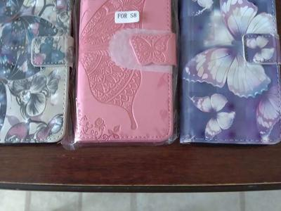 3 Samsung S8 Wallets/cases