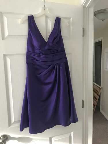 Purple Bridesmaid Dress from David's Bridal for sale in Taylorsville , UT