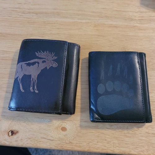 2 leather wallets  for sale in Clinton , UT