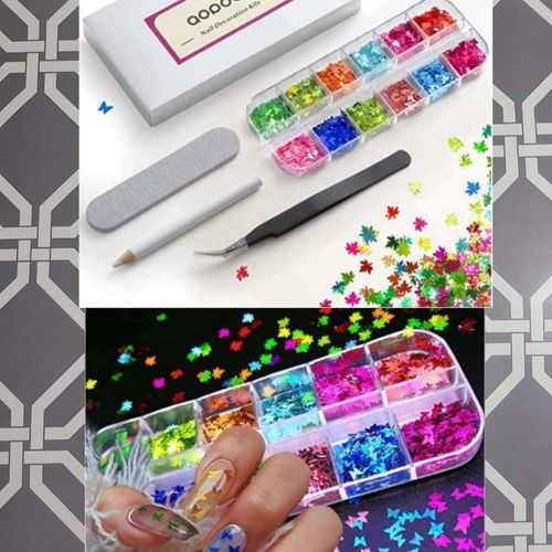 Nail Art Sequins Butterflies Leaves and Tools New for sale in West Jordan , UT