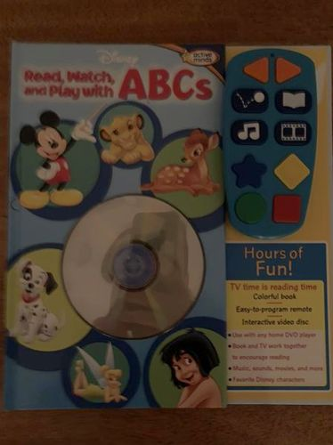 Disney Read, Watch, And Play With ABCs for sale in Farmington , UT