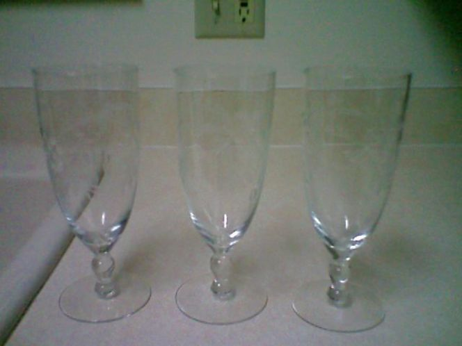 ETCHED WINE GLASSES for sale in Orem , UT