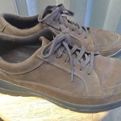 ROCKPORT Sz 11.5 LEATHER SHOES for sale in Bountiful , UT