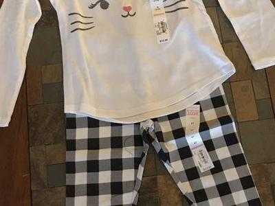 New With Tags Size 4 Toddler Outfit