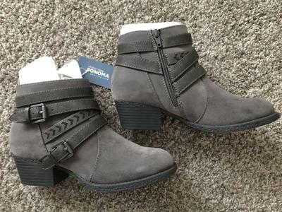 New Ankle Boots Size 7