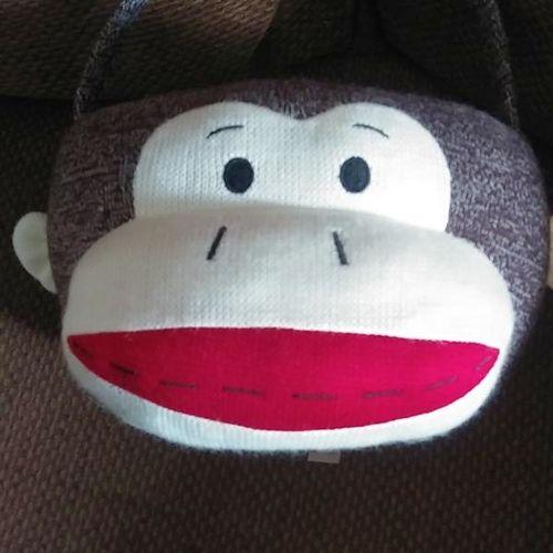 Sock Monkey Easter Basket w/Handle by Dan Dee for sale in West Jordan , UT