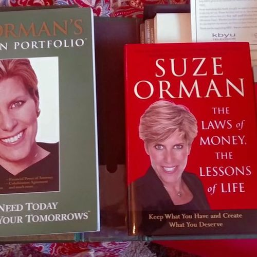 Suze Orman The Laws of Money lessons Life book vhs for sale in West Jordan , UT