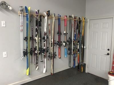 Precision Ski Racks (2 Pair to 10 Pair Lengths)