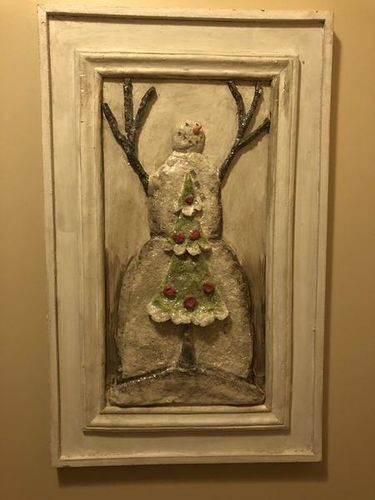 Christmas Snowman Wall Hanging  for sale in Sandy , UT