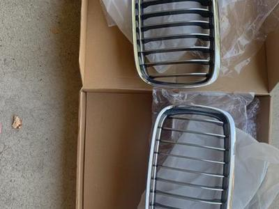 Genuine BMW Chrome Grills For 3 Series