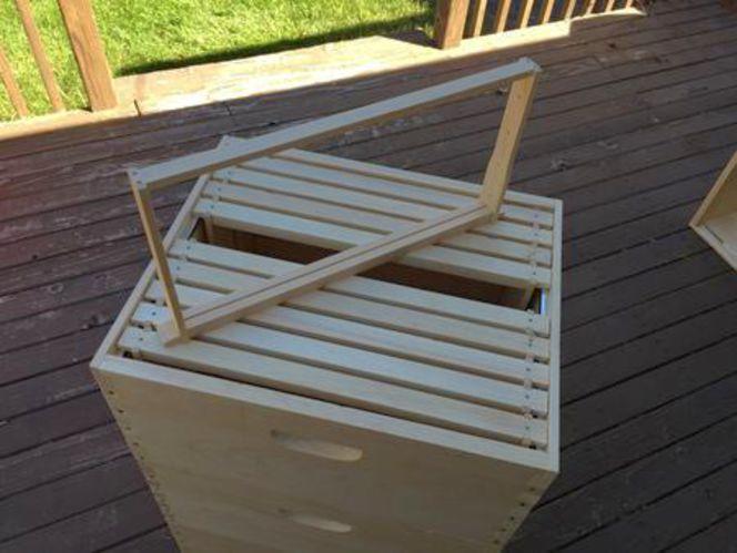 Premium wood beehive frames for sale in Salt Lake City , UT