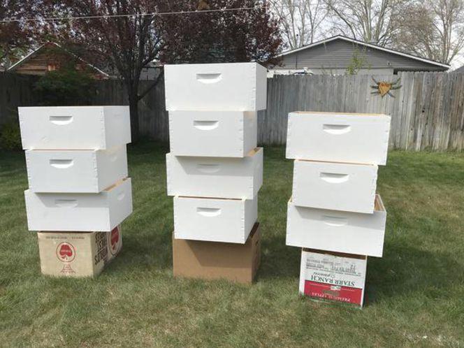 New Full Depth Bee Hive Supers for sale in Salt Lake City , UT