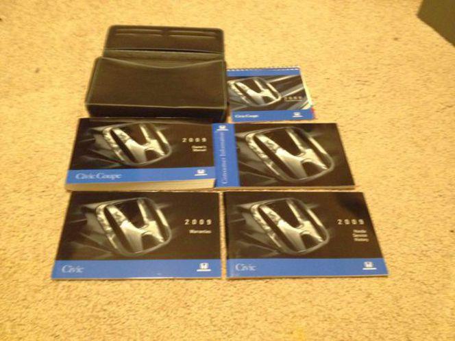 2009 Honda Civic User Manual Set With Storage Case for sale in Alpine , UT