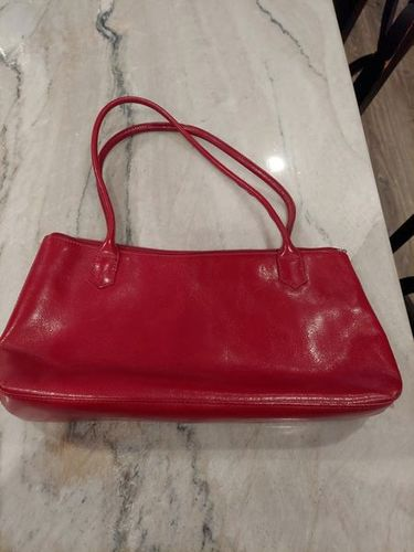 HOBO - red leather handbag, purse (small) for sale in Holladay , UT