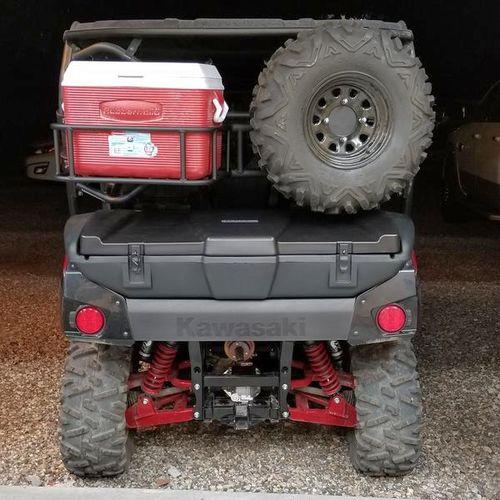Kawasaki Teryx T4 Tire/cooler carrier for sale in Morgan , UT