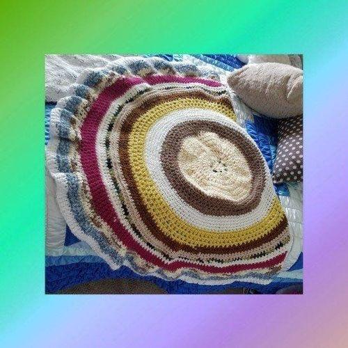 Multicolored Medallion Throw Blanket for sale in West Jordan , UT