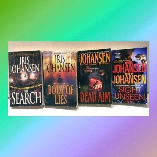 4 Novels by Iris Johansen for sale in West Jordan , UT