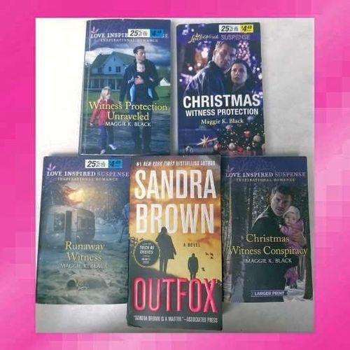 Sandra Brown & Maggie K. Black Novels for sale in West Jordan , UT