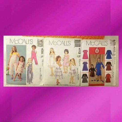 3 McCall's Child's size CCE Patterns for sale in West Jordan , UT