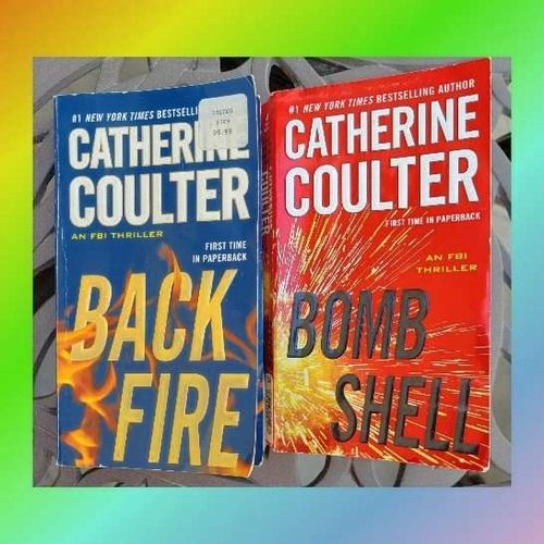 2 Novels by Catherine  Coulter for sale in West Jordan , UT