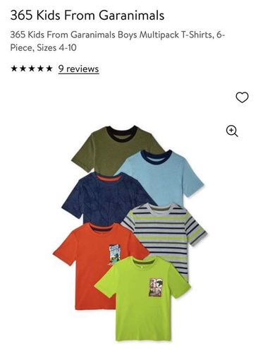 NWT Boys Multipack T-Shirts, 6-piece, Size 8! for sale in West Jordan , UT